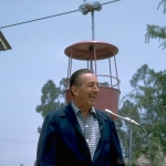 Walt dedicates the Skyway
