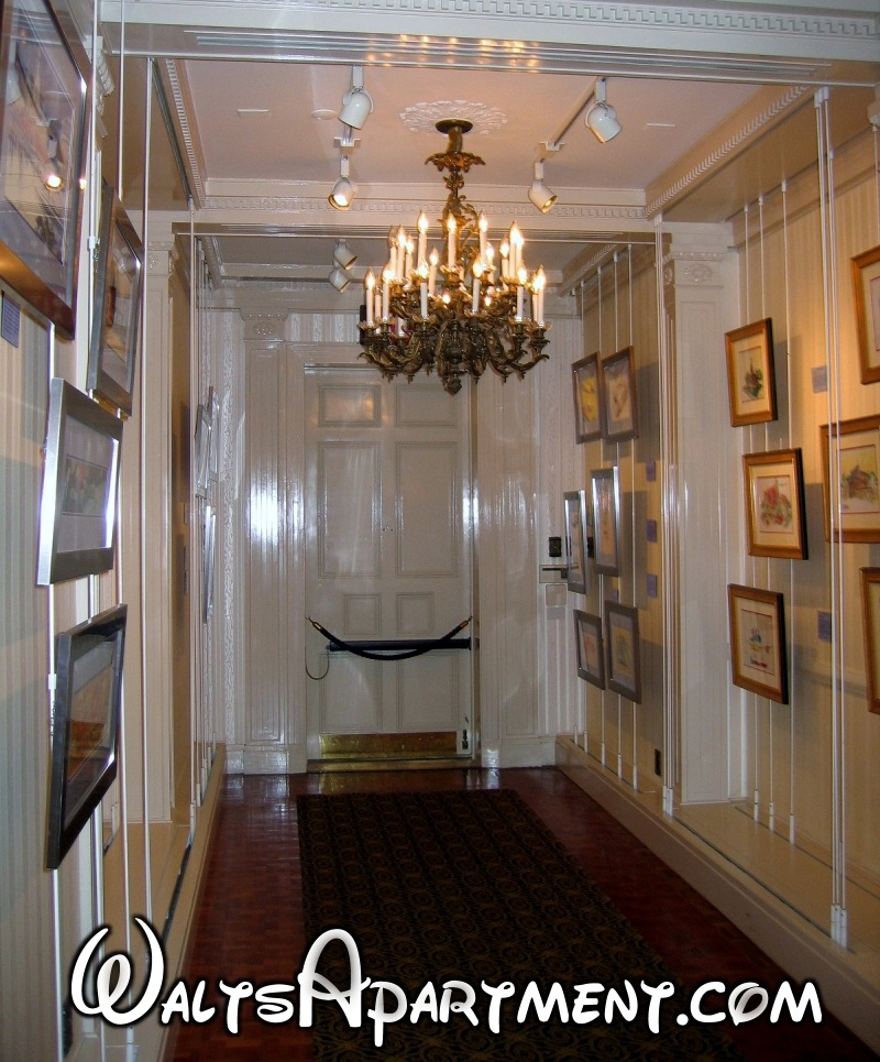 Walt's Luxury Apartment - Front Door Hallway | WaltsApartment.com