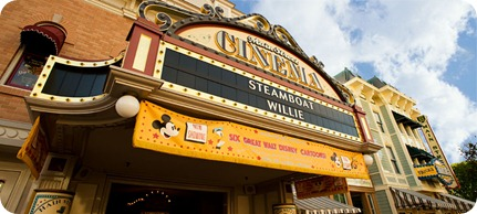 Main Street Cinema, Disneyland - www.WaltsApartment.com