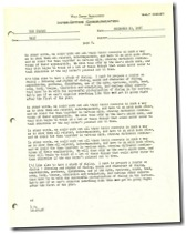 August 31, 1948 message from Walt Disney to Dick Kelsey - www.WaltsApartment.com