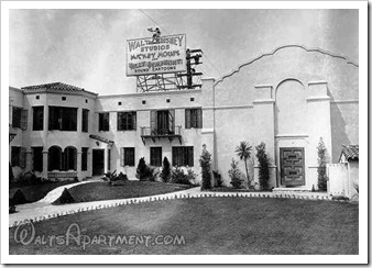 Walt Disney Studios, July 1930 - WaltsApartment.com