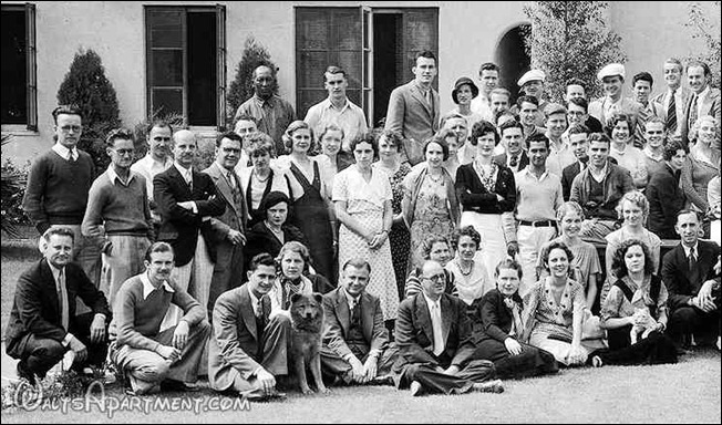 Walt Disney Studios crew photo (left) - WaltsApartment.com