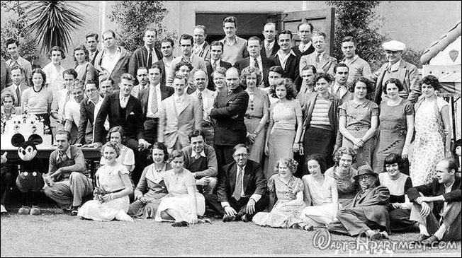 Walt Disney Studios crew photo (right) - WaltsApartment.com