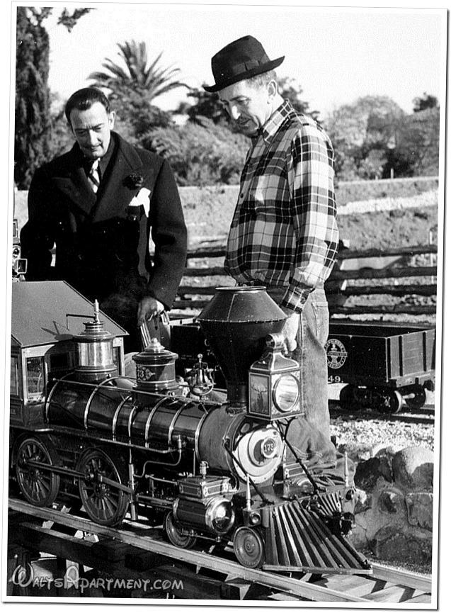 Salvador Dali and Walt Disney - WaltsApartment.com