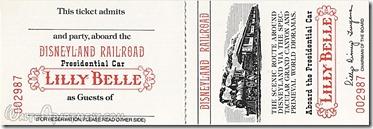 Lilly Belle ticket - www.WaltsApartment.com
