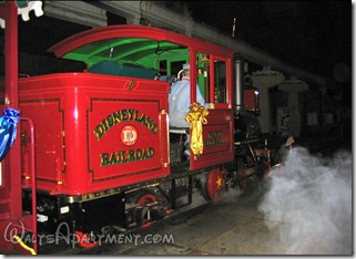 #5 Ward Kimball pulling out of the roundhouse on dedication day, February 15, 2006 - www.WaltsApartment.com