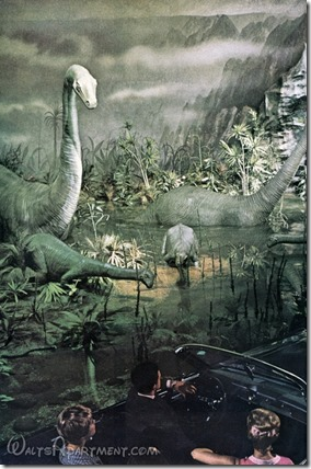 Dinosaurs at the 1964-1965 New York World's Fair - WaltsApartment.com