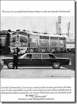 1965 Lincoln Continental ad with Ernest S. Marsh - WaltsApartment.com