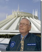Neil Armstrong at Space Mountain - www.WaltsApartment.com