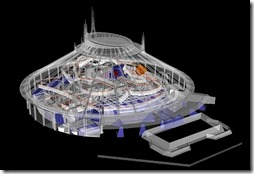 CAD design of Space Mountain - WaltsApartment.com