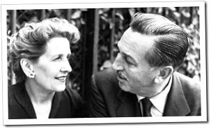 Lillian and Walt Disney - July 13, 1925 - WaltsApartment.com