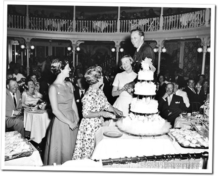 Walt and Lillian's anniversary party at Disneyland - WaltsApartment.com