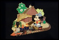 Mickey's Fair Weather Route pin - WaltsApartment.com
