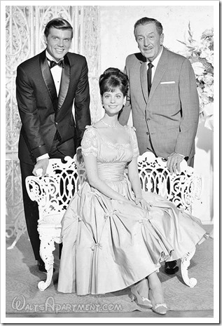 John Davidson, Lesley Anne Warren and Walt Disney - WaltsApartment.com