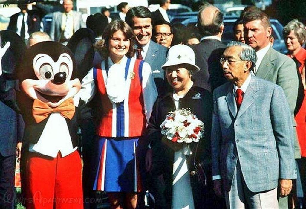 Emperor Hirohito at Disneyland | WaltsApartment.com