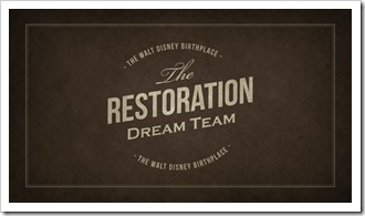 The Restoration Dream Team, Disney Birthplace Project - WaltsApartment.com