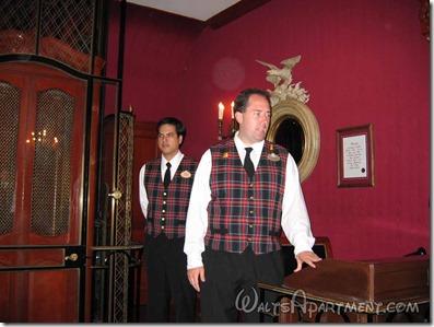 The entry to Club 33, Royal Street - WaltsApartment.com
