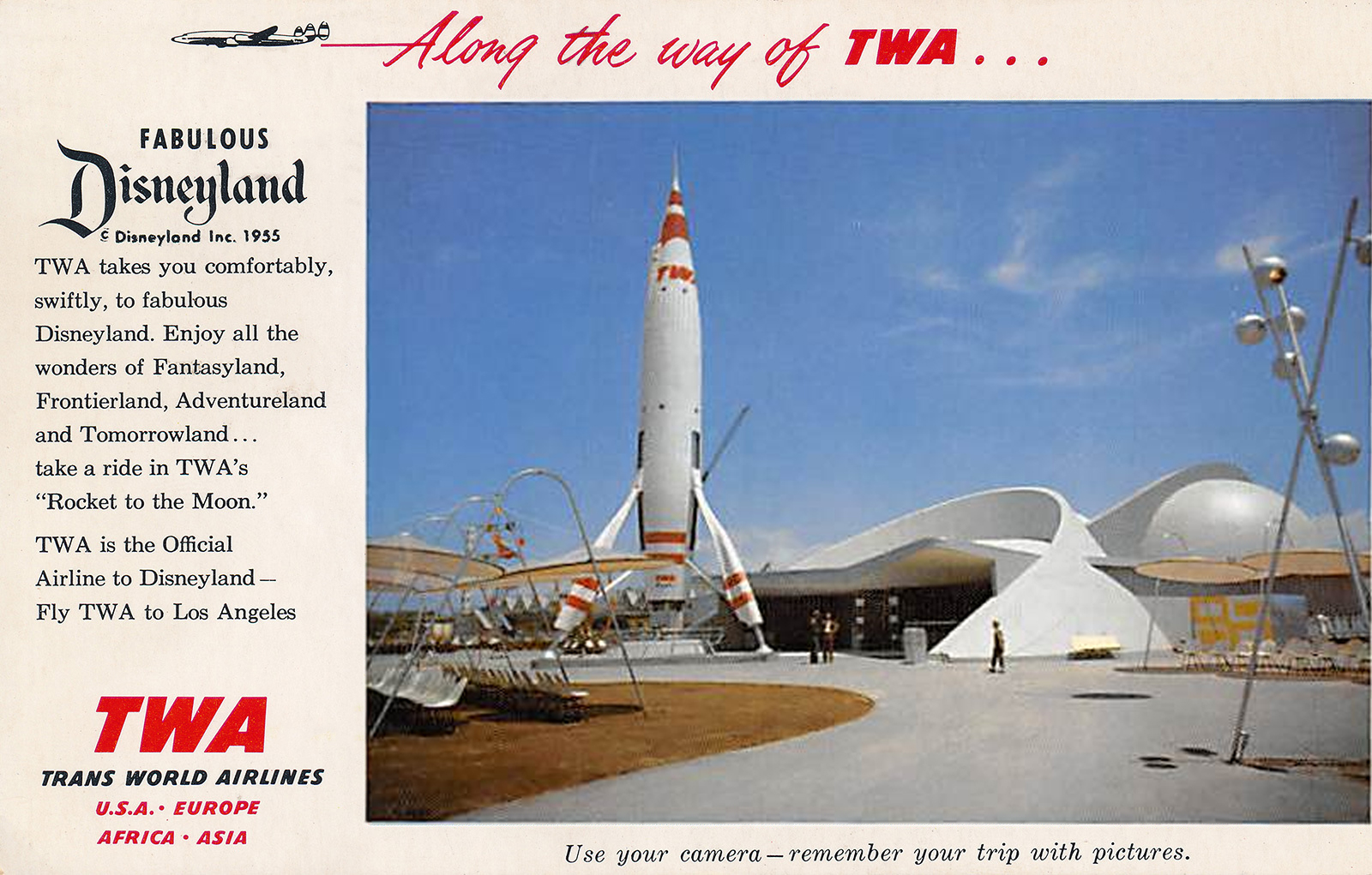 TWA Moonliner at Rocket to the Moon | WaltsApartment.com